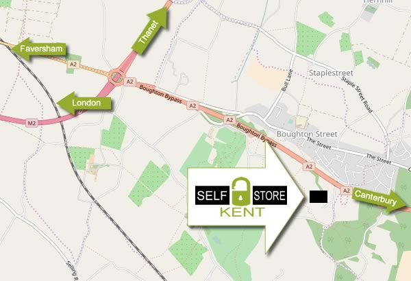 Find Kent Self Storage